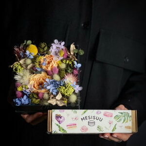 Kingikomplekt uinuvate lilledega