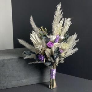 Stabiliseeritud lilledest pruudikimp. DecoRento.