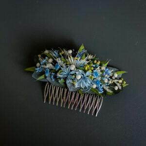 Juukseehe pruudile. Uinuvad lilled. DecoFlorals