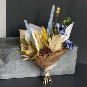 Kimp kauapüsivatest õitest ja taimedest. MALVINA-5215. Uinuvad lilled. DecoRento