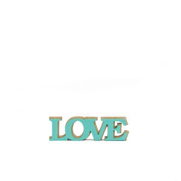 Puidust LOVE silt.