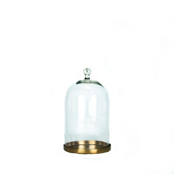 metallist alusel klaaskuppel