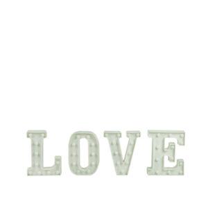 LOVE tähed LED valgusega